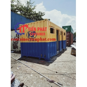 Mẫu container kho