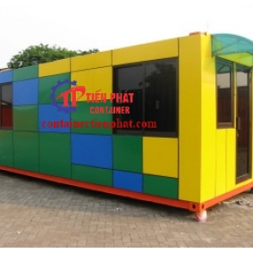 Container theo thiết kế 20 feet
